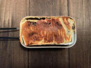 【メスティンおやつ時間】簡単!デリシャス!ブラックサンダーバナナケーキの作り方