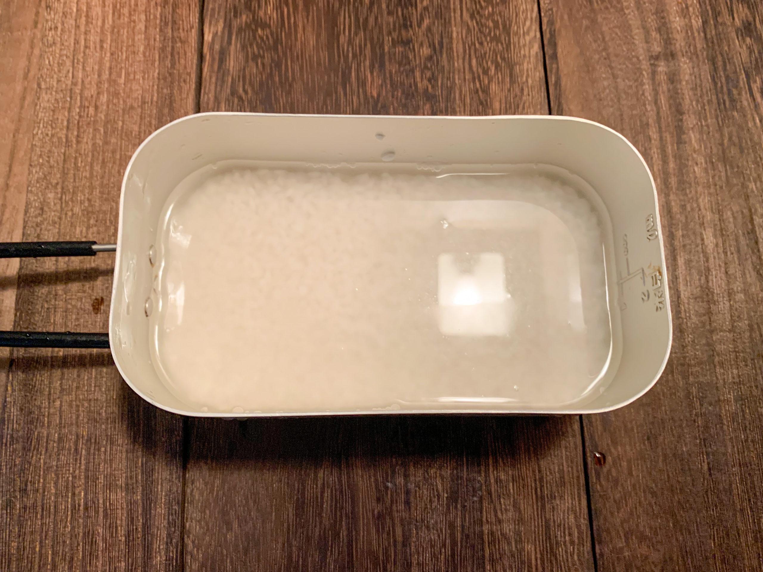 【基本】メスティンで白米を炊く方法をご紹介!