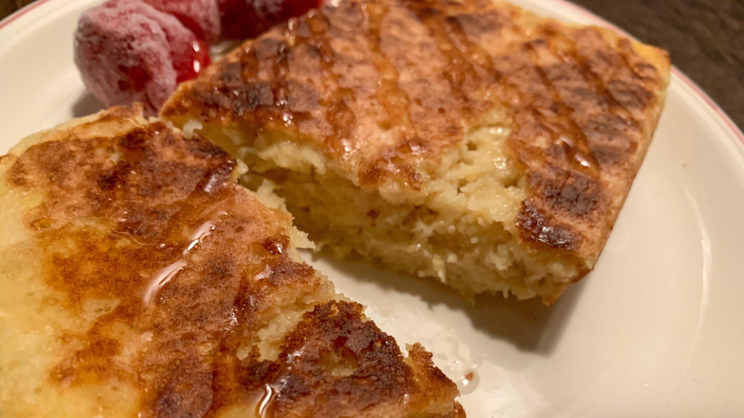 【メスティンおやつ時間】パン粉で簡単フレンチトーストの作り方!